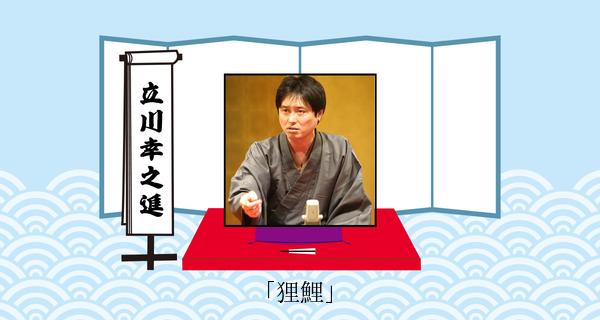 狸鯉(平成31年1月20日お披露目興行)